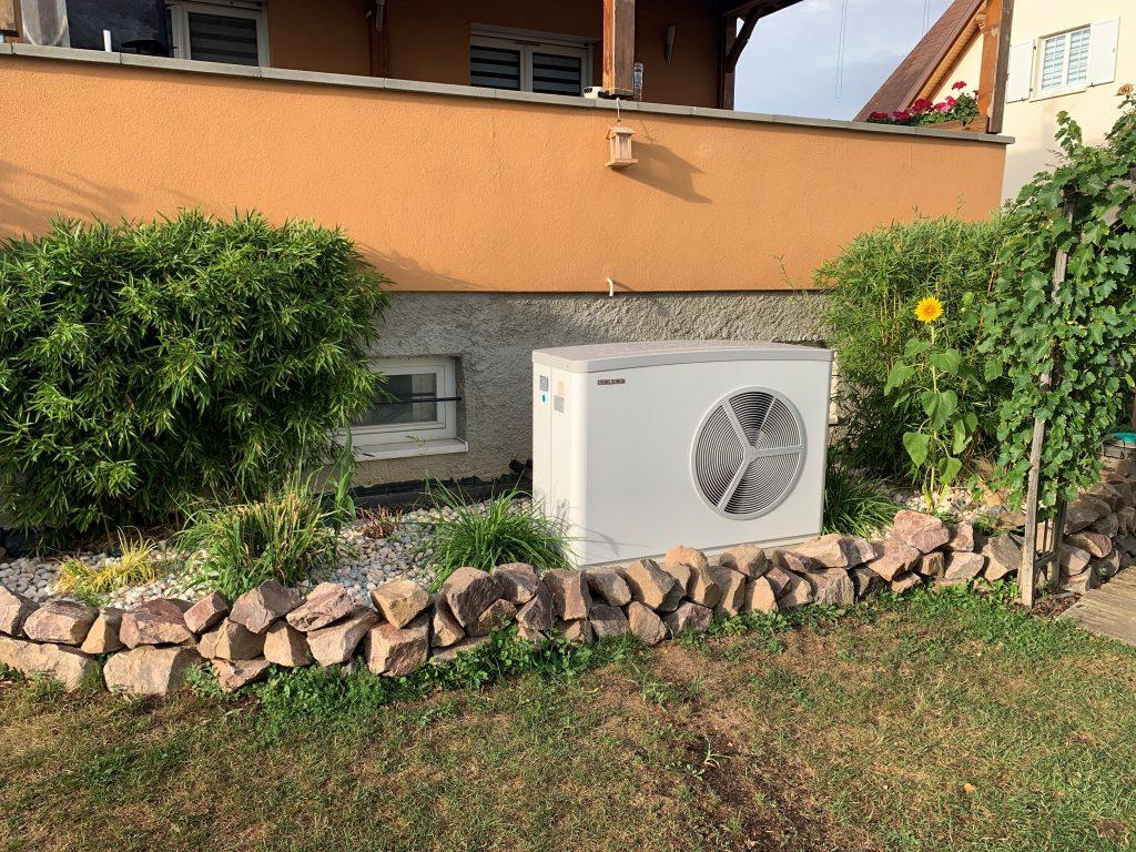 Pompe à chaleurs ROSS Stiebel HPA O13 extérieur